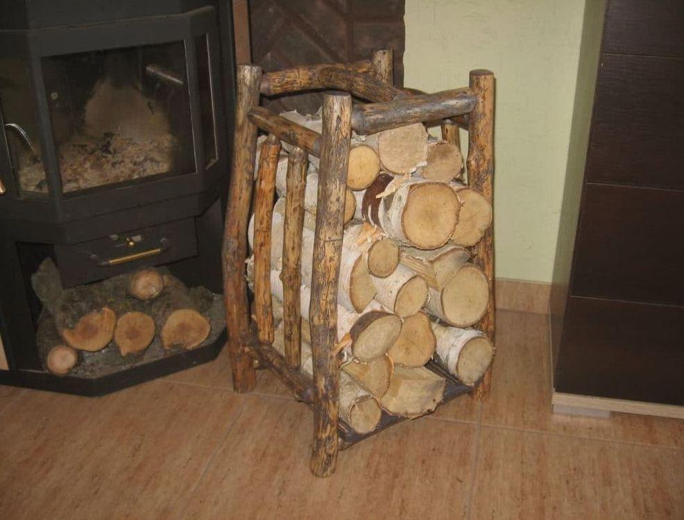 деревянная подставка для дров