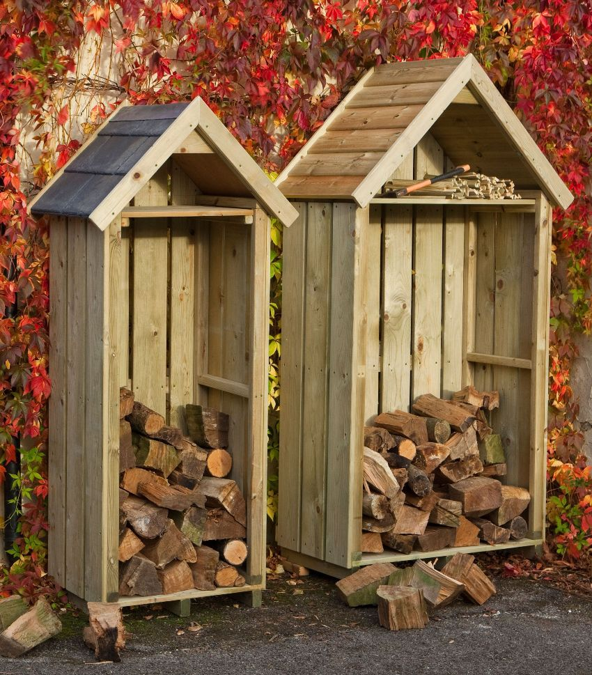 додомики-навесики под дрова