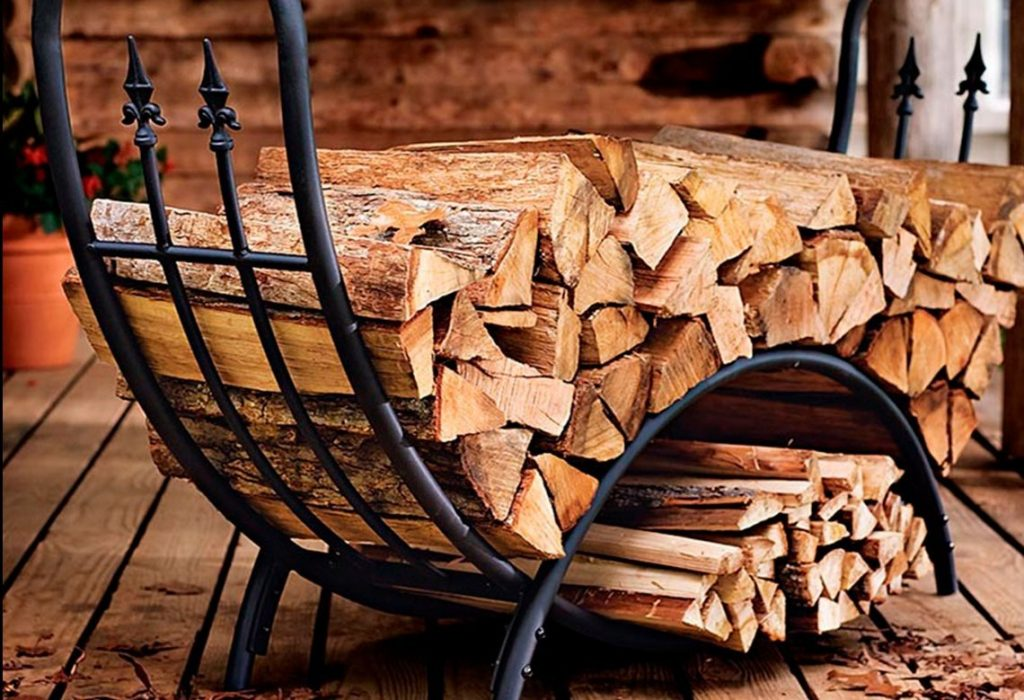 дровница переносная для камина