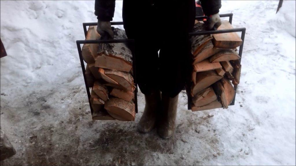 дровницы для переноски дров