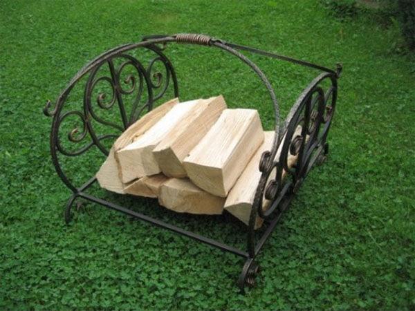 переносная подставка для дров