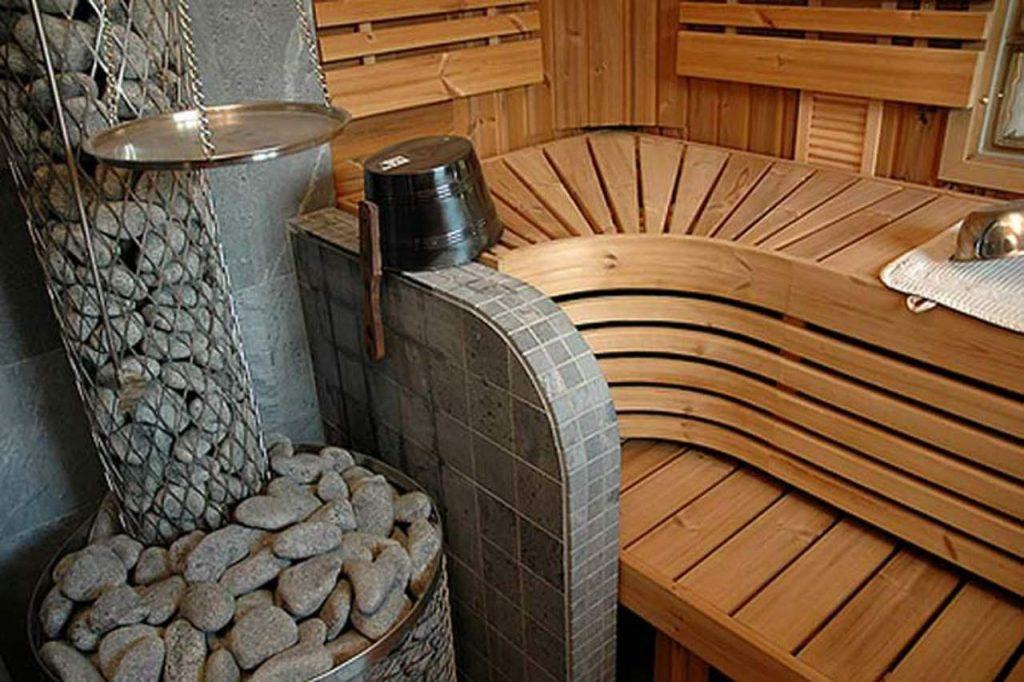 печь с каменкой открытого типа