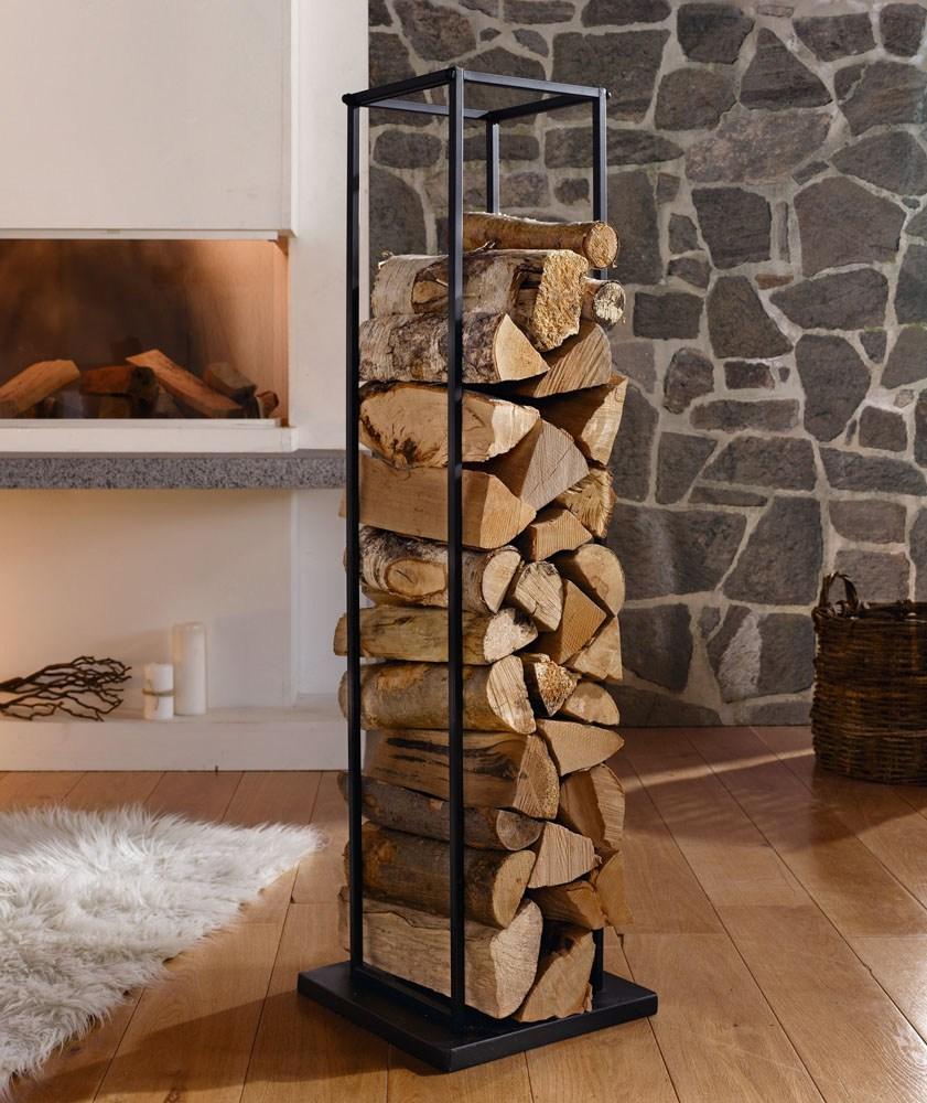 стойка-дровница для камина