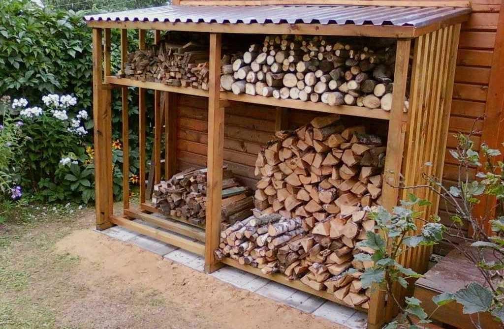штабельный способ укладки дров