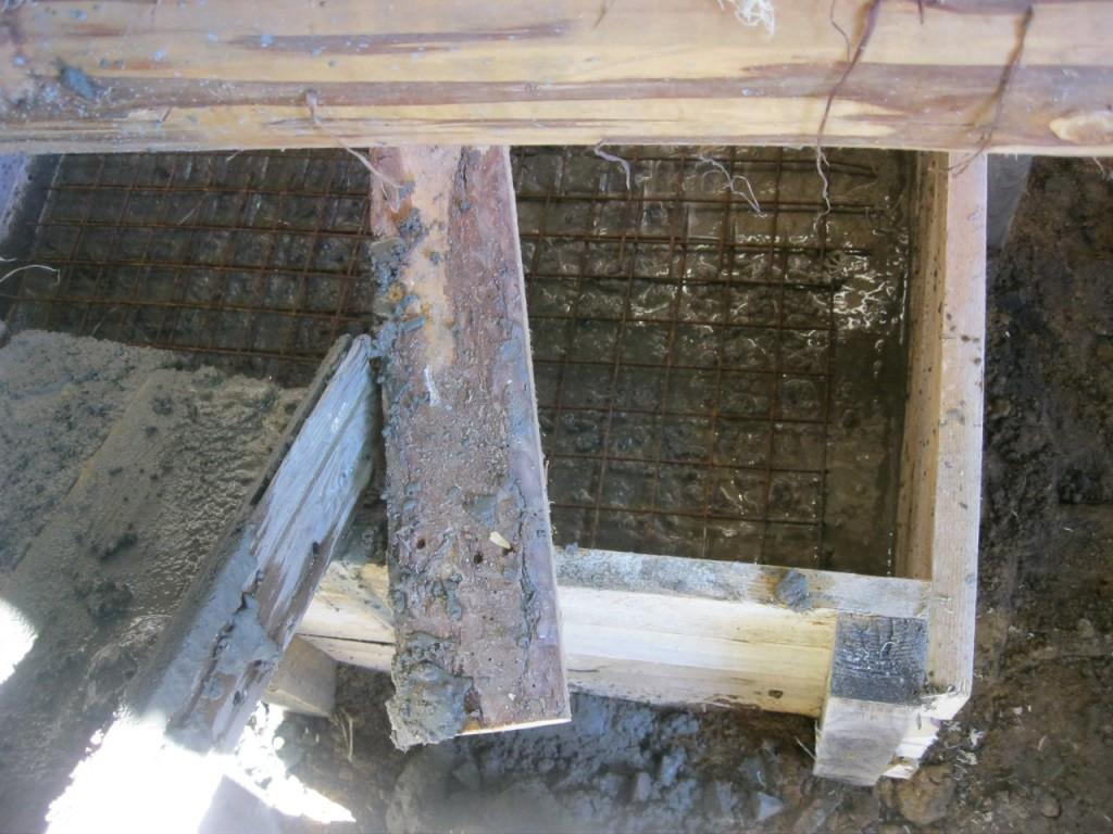 Армирование бетона кладочной сеткой