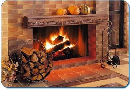 Облицовка каминов керамической плиткой своими руками пеноплекс для дымохода