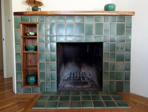 плитка для отделки камина