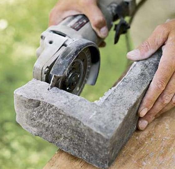 натуральный камень в облицовке