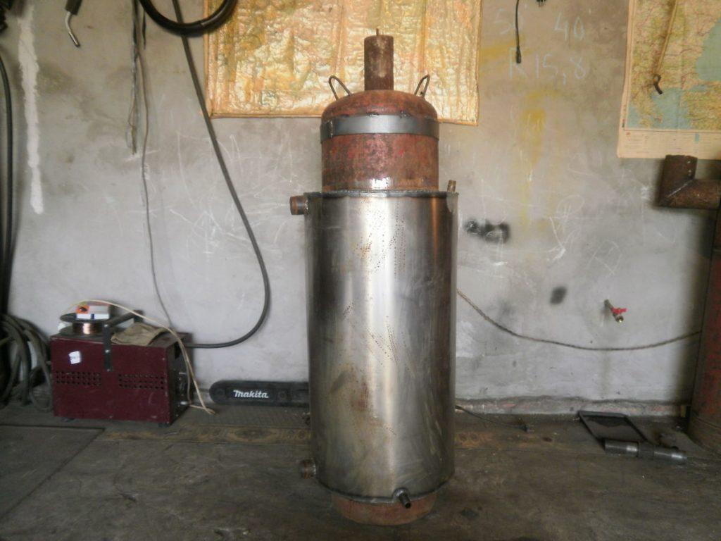 Бубафоня из газового баллона