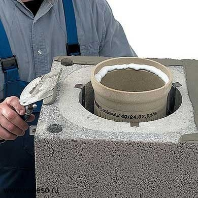 бетонный дымоход