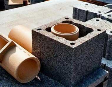 Блоки дымоходные из керамзитобетона мягкий бетон