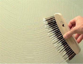 Техника нанесения узора на декоративную штукатурку
