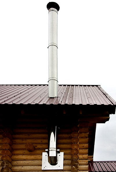дымоход для бани