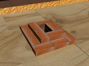 дымоходы для печей из кирпича