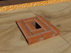 дымоходы из кирпича для печей