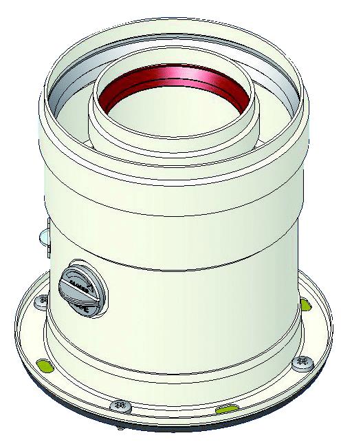 фланцевый адаптер дымохода
