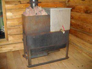 стальная печка