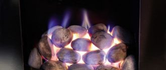 газовый камин своими руками