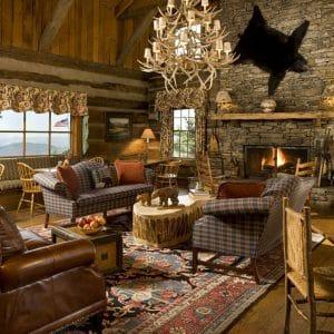 дизайн деревянного домика