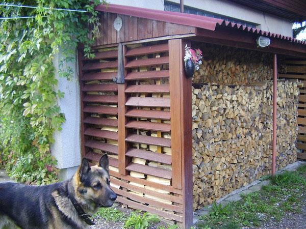 Обеспечение хранения дров