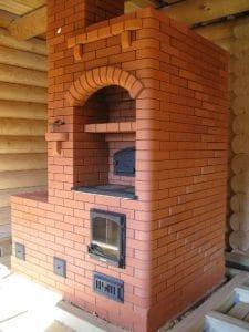 печь на дровах