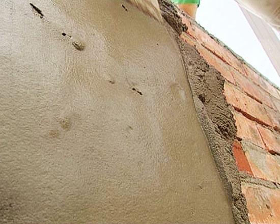 Можно ли оштукатурить печь цементным раствором дом керамзитобетон монолитный