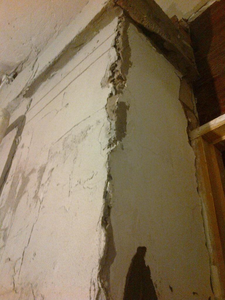 Штукатурим печь цементным раствором высыхание бетона