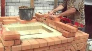 печь уличная для дачи своими руками