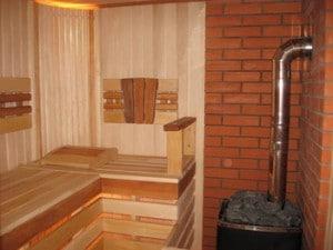 как построить печь из кирпича для бани