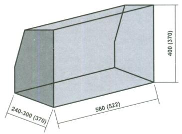 как построить камин угловой