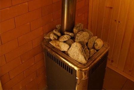 как установить печь в баню
