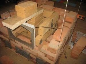 расположение печи в деревянном доме