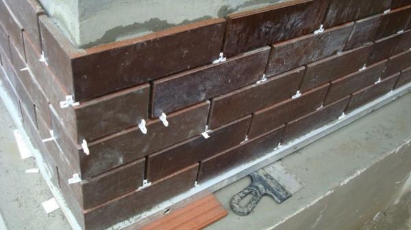 Облицовка каминов клинкерной плиткой своими руками