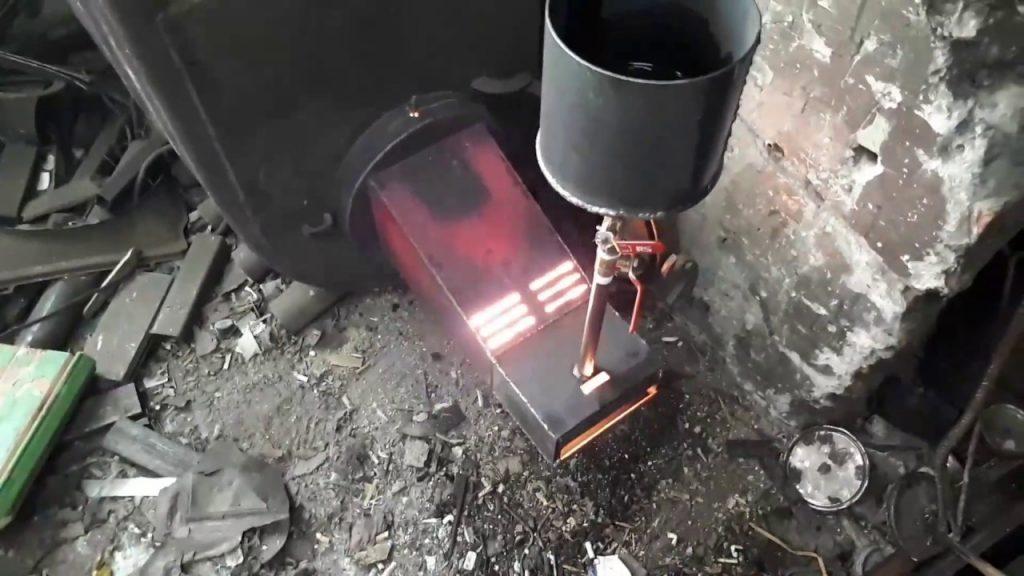 Пиролизная горелка