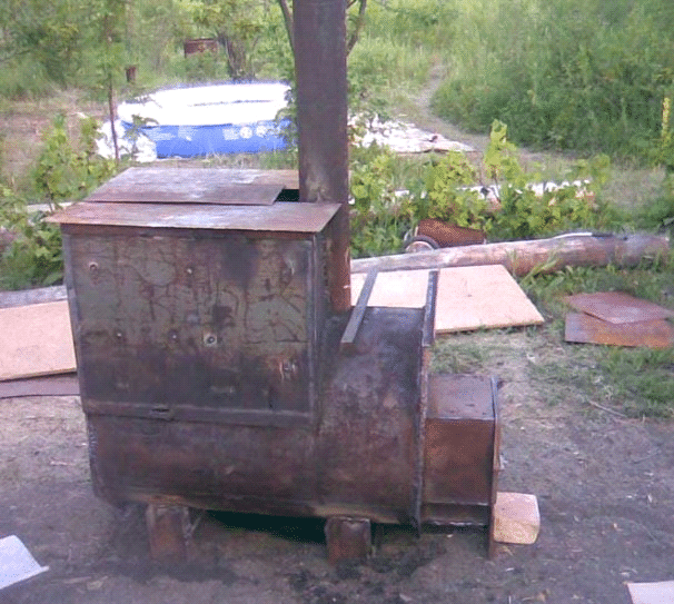 Банная печка своими руками
