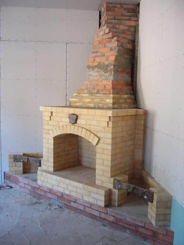 монтаж каминов и дымоходов