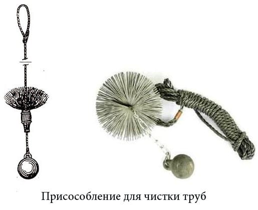 очиститель дымоходов