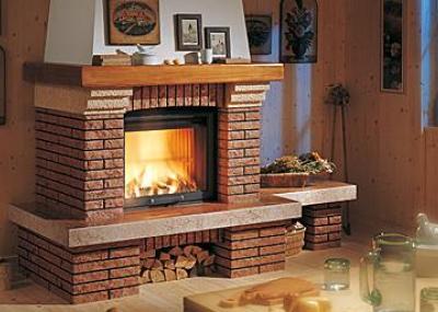 Отделка дымохода для камина установка банных печей и дымоходов своими руками