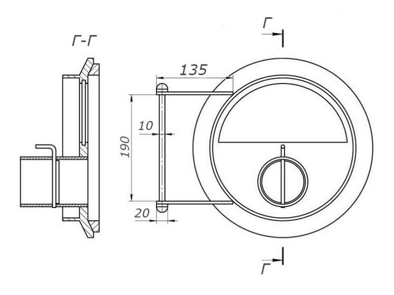 Схема для дверцы булерьян