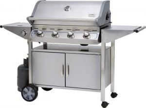 Передвижная печь барбекю
