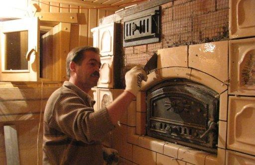 плитка для облицовки печей