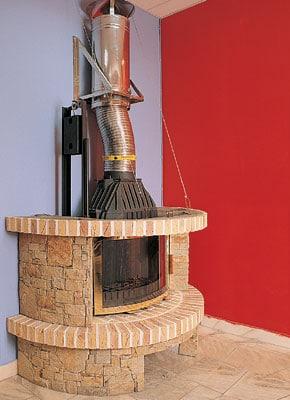 Можно ли делать дымоходы в камине какой дымоход сделать в баню