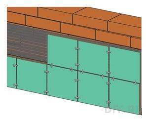 Применение в облицовке строительных крестиков