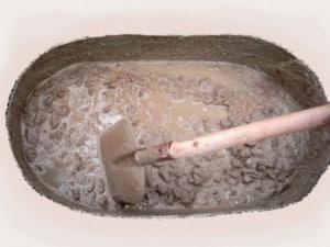 Замоченная глина